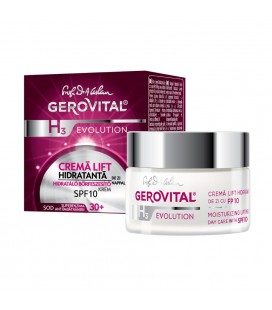 GEROVITAL H3E Crema lift hidratanta de zi SPF10 x 50ml