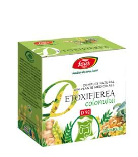 Ceai detoxifierea colonului x 28pl