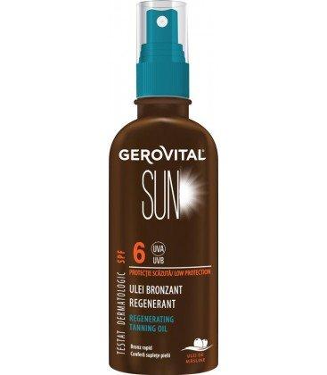 GEROVITAL SUN Ulei bronzant regenerator x 150ml