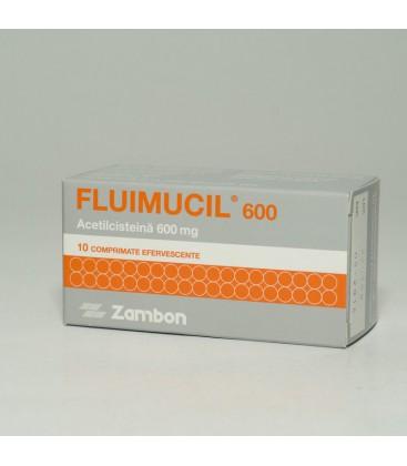 FLUIMUCIL (R) 600 X 10 COMPR. EFF.