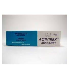 ACEVIREX 50 mg/g x 1 CREMA 50mg/g THE WELLCOME FOUNDAT