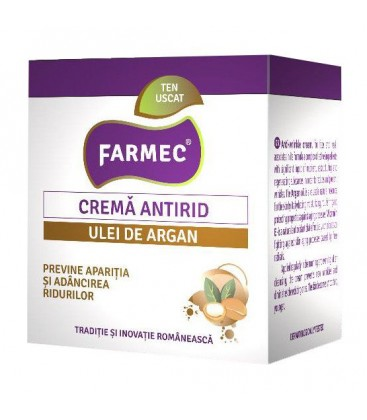 Crema antirid argan x 50ml