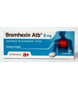 BROMHEXIN ATB  8 MG X 20 COMPR