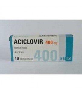 ACICLOVIR EGIS 400 mg X 10 COMPR.