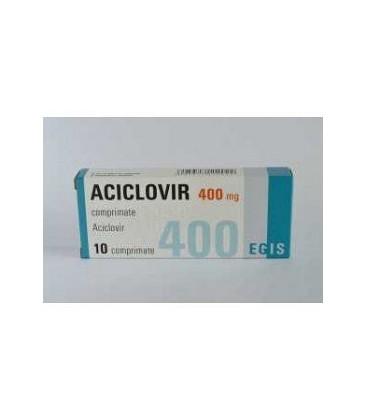 ACICLOVIR EGIS 400 mg X 10 COMPR. 400mg EGIS