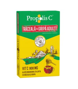 Propolis C raceala si gripa adulti x 8pl