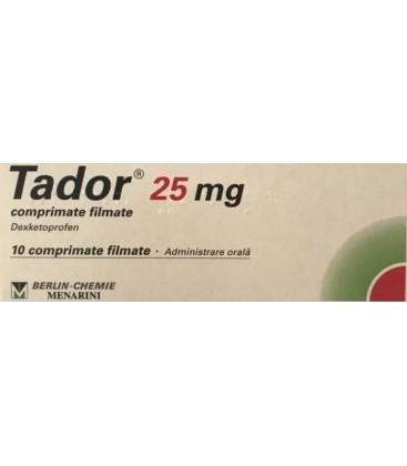 TADOR 25 mg X 10 COMPR. FILM.