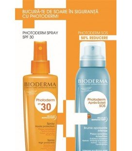 BIODERMA Photoderm  spray SPF30 x 200ml + SOS spray x 125ml