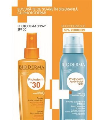 BIODERMA Photoderm  spray SPF30 x 200ml + SOS spray x 125ml CUTIE  BIODERMA