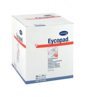 EYCOPAD Comprese sterile ochi 56mm x70mm x 25buc