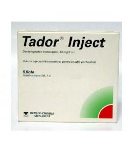 TADOR INJECT X 5 SOL. INJ./CONC. PT. SOL. PERF.