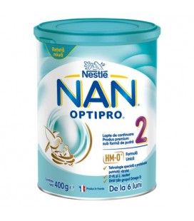 NESTLE Lapte NAN 2 (din luna 6) x 400g