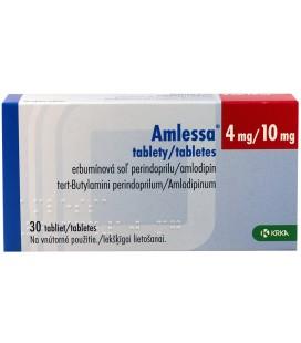 AMLESSA 4 mg/10 mg X 30 COMPR