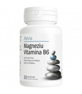 Magneziu Vitamina B6 x 30 cp cutie  ALEVIA