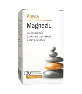 Magneziu x 30 cps formula citrat cutie  ALEVIA