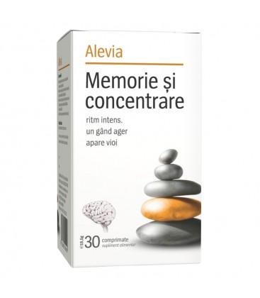 Memorie si concentrare x 30 cp cutie  ALEVIA