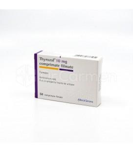 THYROZOL 10 mg X 50 COMPR. FILM.