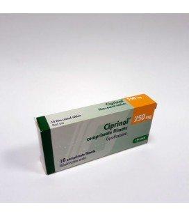 CIPRINOL 250 mg X 10 COMPR. FILM.