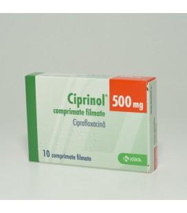 CIPRINOL 500 mg X 10 COMPR. FILM.