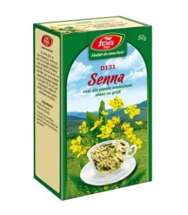 Ceai frunze de senna x 50g