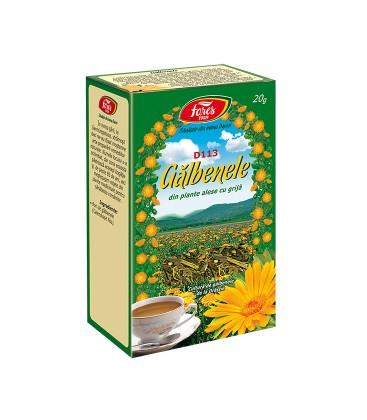 Ceai galbenele flori x 50g