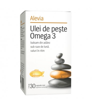 Ulei de peste cu omega3 x 30cps