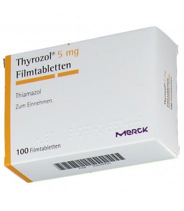 THYROZOL 5 mg X 100 COMPR. FILM.