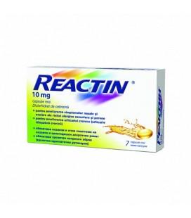 REACTIN 10 mg X 7 CAPS. MOI