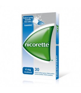 NICORETTE ICEMINT 4 mg X 30 GUMA MEDICAMENTOASA MAST