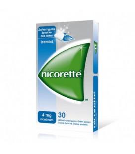 NICORETTE FRESHFRUIT 4 mg X 30 GUMA MEDICAMENTOASA MAST
