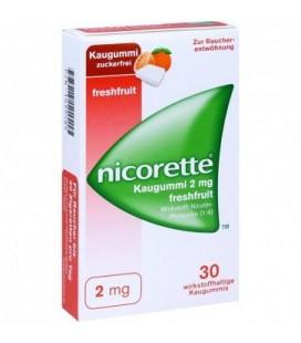 NICORETTE FRESHFRUIT 2 mg X 30 GUMA MEDICAMENTOASA MAST