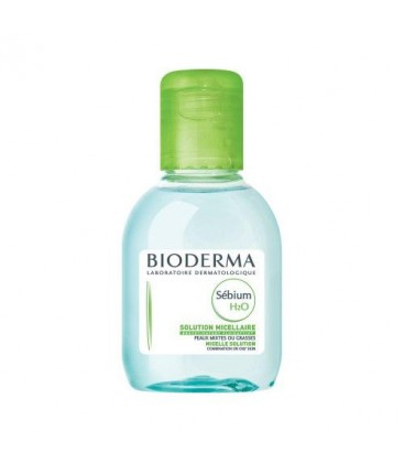 BIODERMA Sebium H2O lotiune x 100ml cutie  BIODERMA