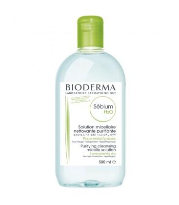 BIODERMA Sebium H2O lotiune x 500ml CUTIE  BIODERMA