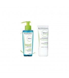 BIODERMA Sebium Sensitive+Sebium gel x 200ml