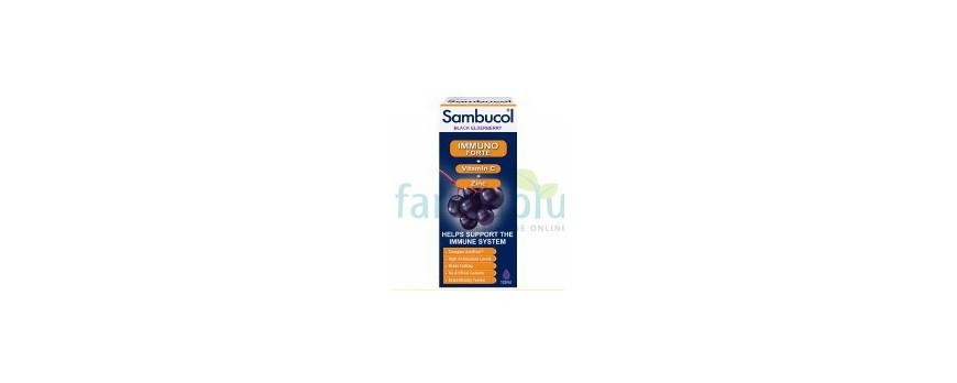 Sambucol Immuno Forte protejeaza imunitatea familei tale!