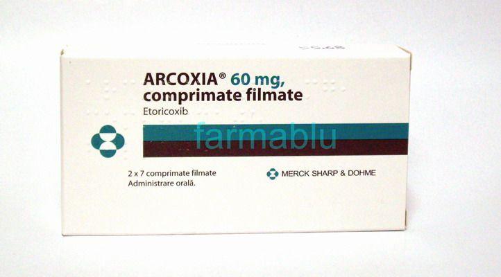 tratament arcoxia 60
