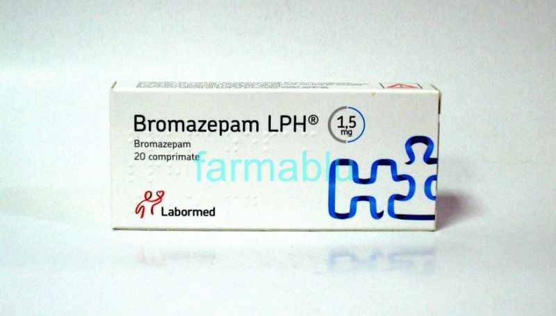 Bromazepam prospect pret