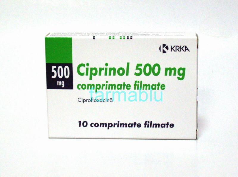 Ciplox-500 (Ciprofloxacin Hydrochloride) - 500mg (10 Tablets)